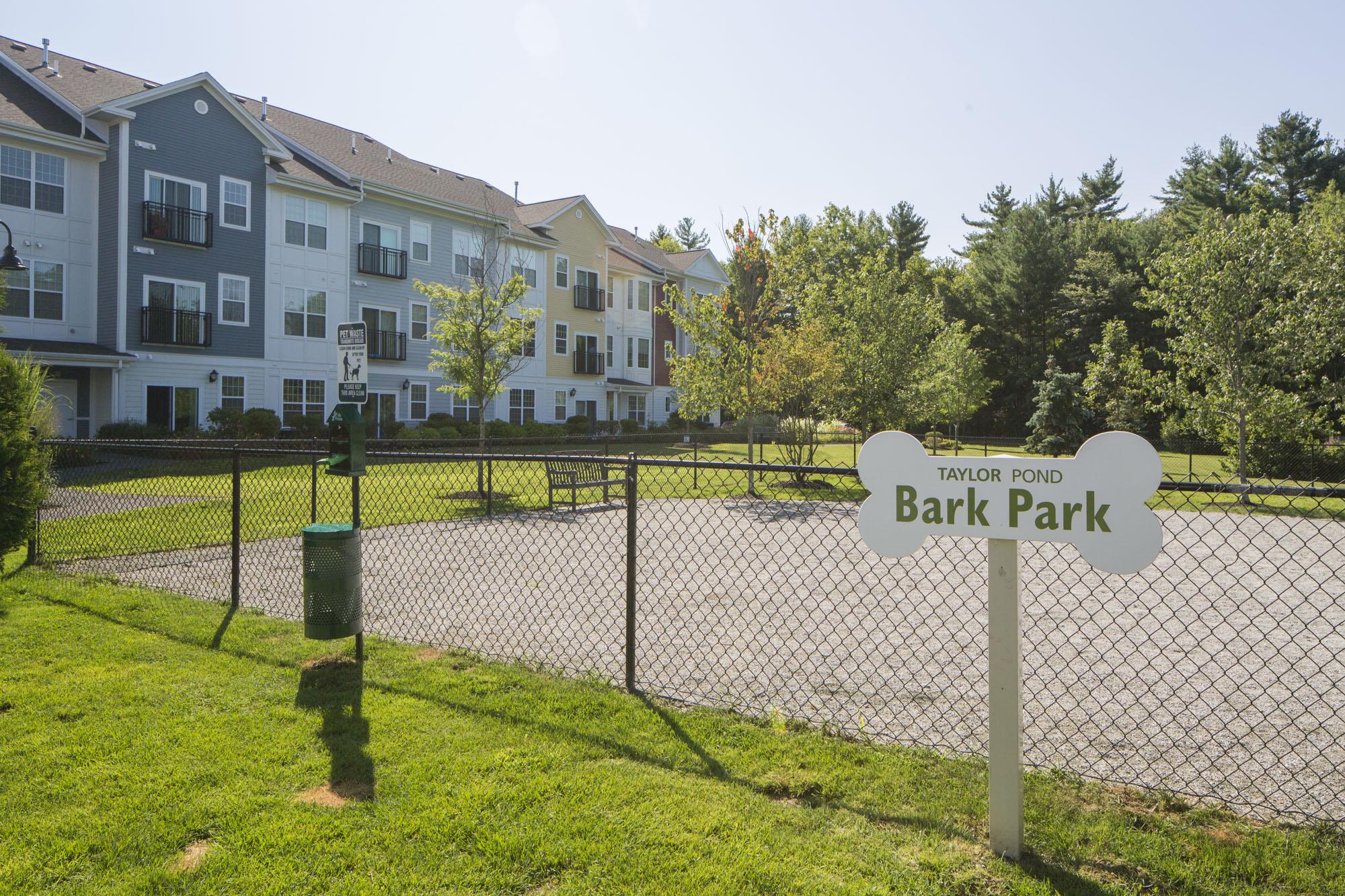 Bark Park at The Village at Taylor Pond