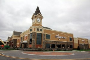 Exterior view of Wegmans near The Village at Taylor Pond