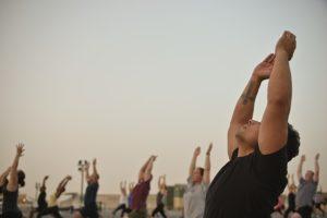 yoga near bedford apartments