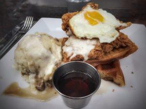 Chicken & Waffles - Bridge House Tavern